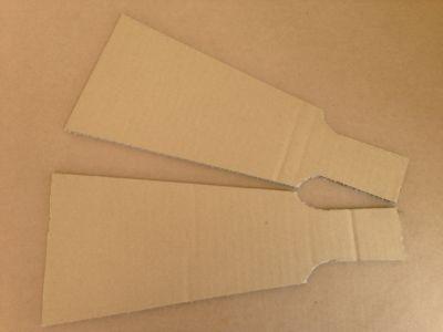 ダンボールで羽子板の作り方手順4