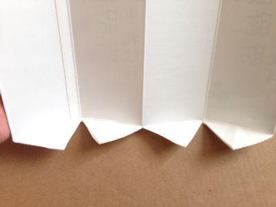 六角形の牛乳パック椅子の作り方手順4