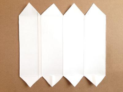 六角形の牛乳パック椅子の作り方手順6