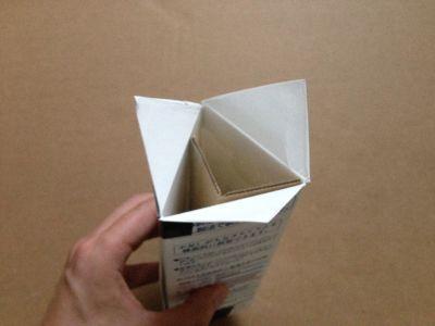 六角形の牛乳パック椅子の作り方手順12