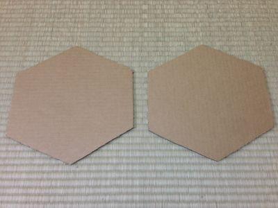 六角形の牛乳パック椅子の作り方手順28