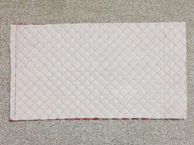牛乳パック椅子カバーの作り方手順7