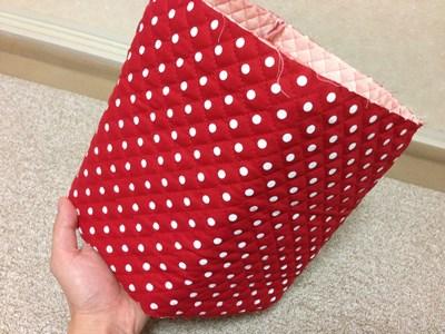 牛乳パック椅子カバーの作り方手順8