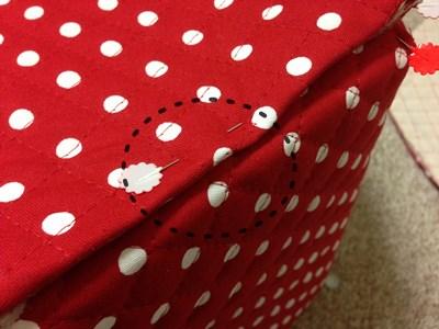 牛乳パック椅子カバーの作り方手順15