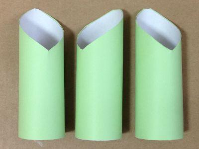 トイレットペーパー芯と画用紙で門松の作り方手順4