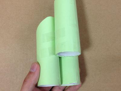 トイレットペーパー芯と画用紙で門松の作り方手順6