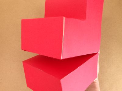 ティッシュ箱で獅子舞の作り方10