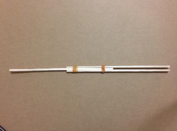 割り箸鉄砲の作り方手順4
