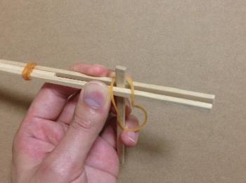 割り箸鉄砲の作り方手順7