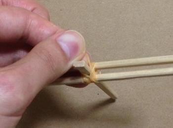 割り箸鉄砲の作り方手順8