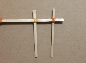 割り箸鉄砲の作り方手順9