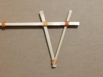 割り箸鉄砲の作り方手順10