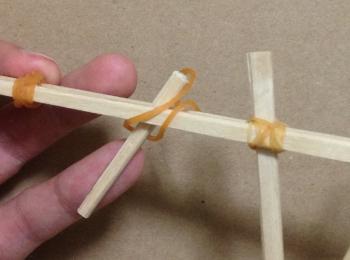 割り箸鉄砲の作り方手順12