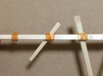 割り箸鉄砲の作り方手順13