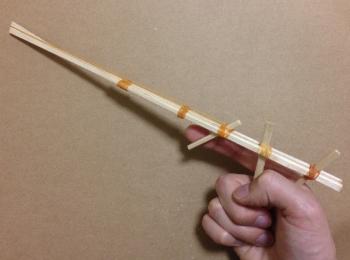 割り箸鉄砲