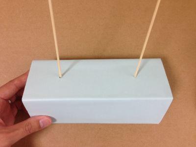割り箸ゴム鉄砲の的の作り方手順7