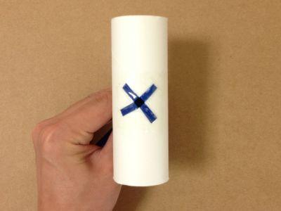 おもちゃ弓矢の作り方手順6