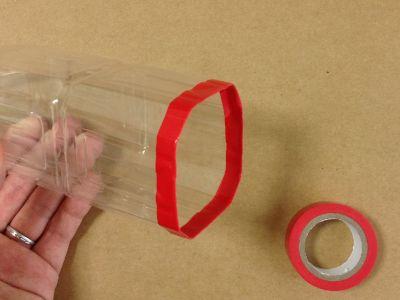 ペットボトルで空気砲の作り方手順2