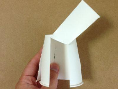 紙コップで風車の作り方手順4