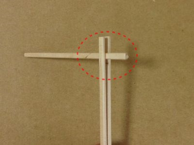 紙コップで風車の作り方手順9