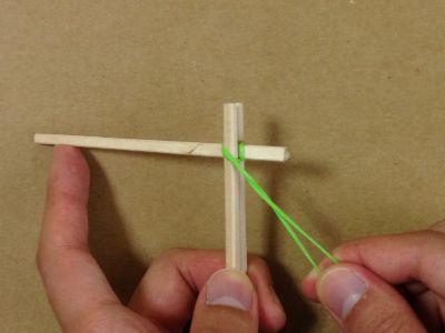 紙コップで風車の作り方手順11