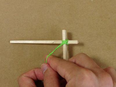 紙コップで風車の作り方手順13