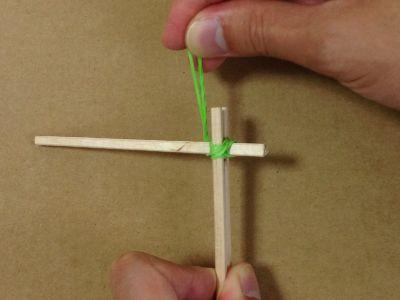 紙コップで風車の作り方手順14