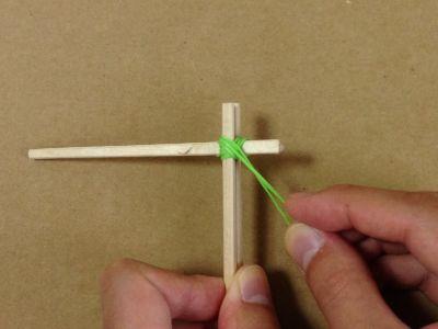 紙コップで風車の作り方手順15