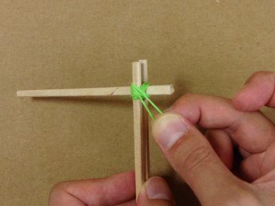 紙コップで風車の作り方手順16