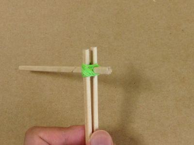 紙コップで風車の作り方手順17