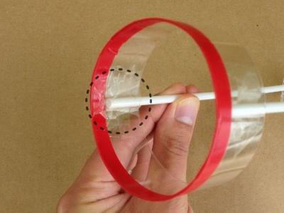 ペットボトル円筒飛行機の作り方手順3
