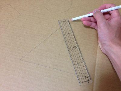 手裏剣の的の作り方手順4